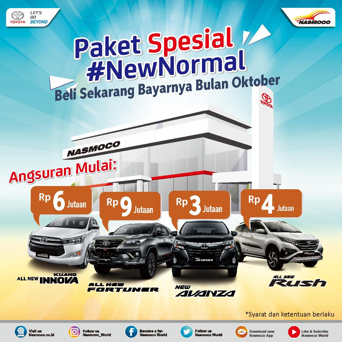 Promo Toyota Semarang Paket New Normal