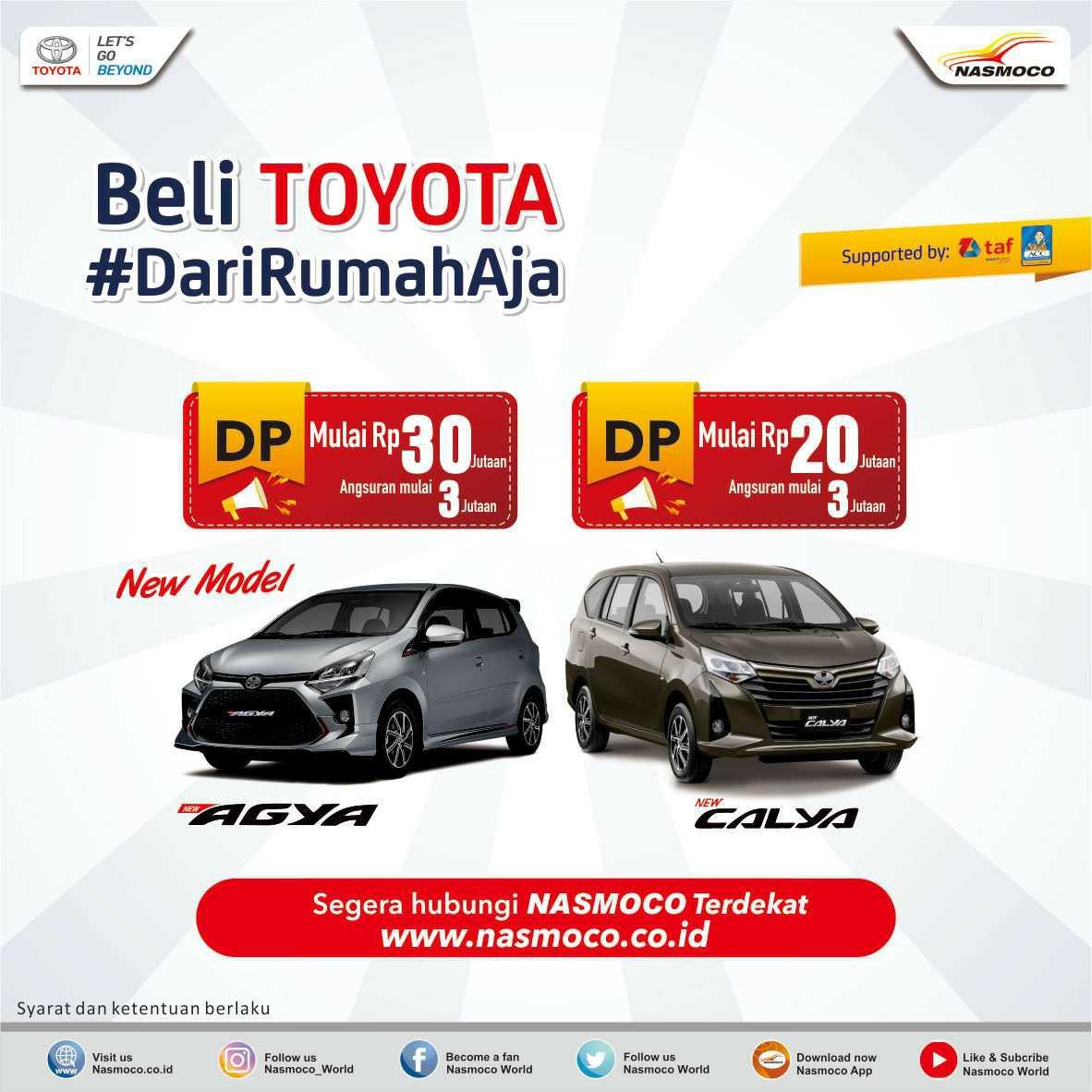 Promo Kredit Toyota Calya dan Agya Terbaik di Semarang